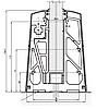 """""""ODF-16-02-03-L100"""" Клемма зажимного профиля для перил из стекла , фото 7"""