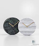 Изделия из натурального камня гранита и мрамора. Часы из натурального камня