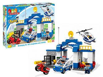 """Конструктор JDLT 5135 """"Полицейский участок"""" 68 деталей. Свет. Звук.(аналог Lego Duplo 5681)"""