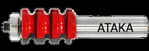 Фреза Атака кромочная фигурная 12х22,2х28,6 мм