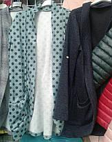 Пиджак-кардиган женский  42-48р , доставка по Украине, фото 3