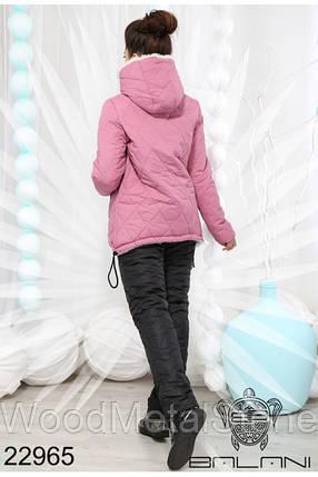 Зимний женский костюм на меху(42-48 р), доставка по Украине, фото 2