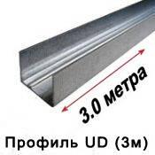 """Профиль для гипсокартона UD (3м) — """"0,55"""""""
