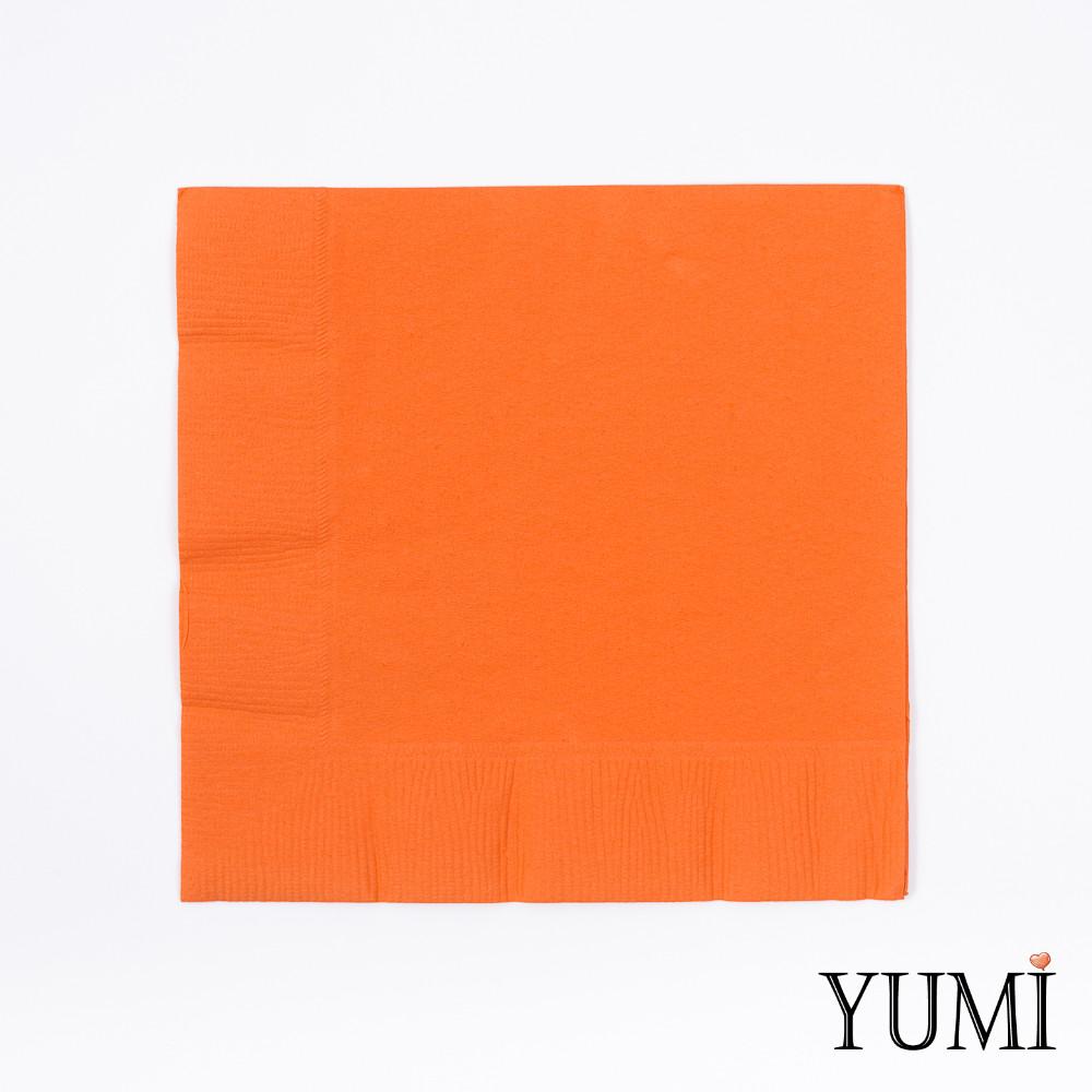 Салфетка Orange Peel оранжевая 33 см / 20 шт