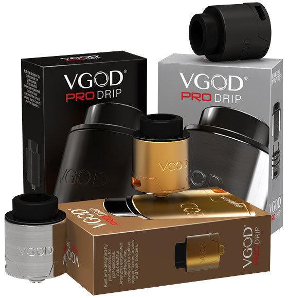 VGOD PRO DRIP RDA - Атомайзер для электронной сигареты. Оригинал