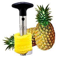 Металлический нож для очистки и нарезки ананаса кольцами
