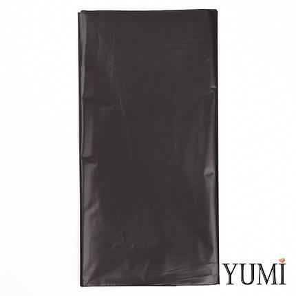 Скатерть п/э Black черная 137 х 2,74 м Amscan, фото 2