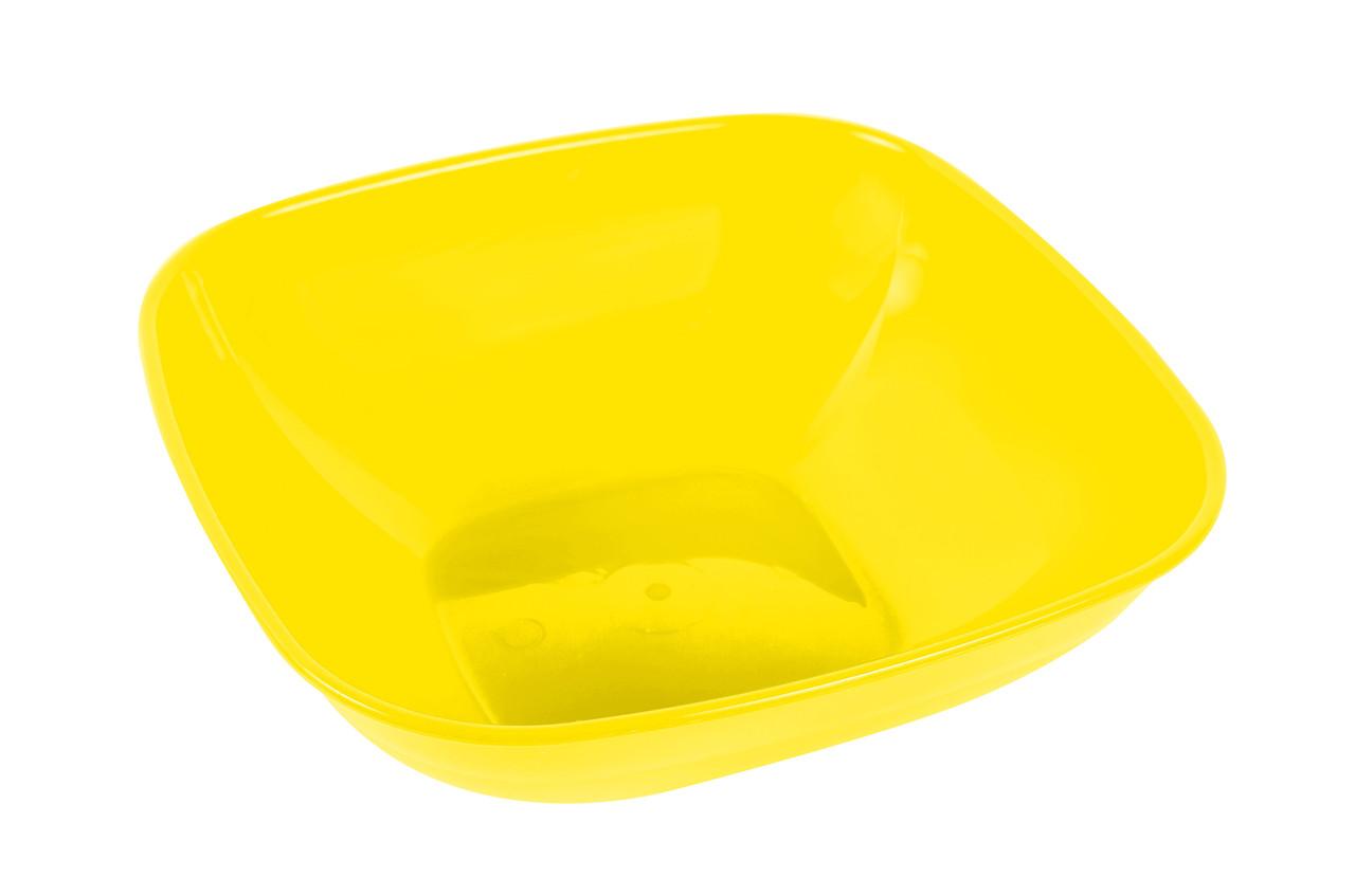 Салатник 0,5л. желтый