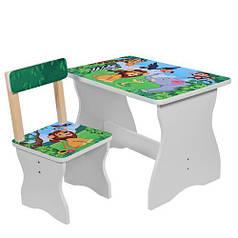Детский столик и стульчик Bambi 504-11