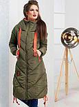 Стильное зимнее пальто (3 цвета), фото 4