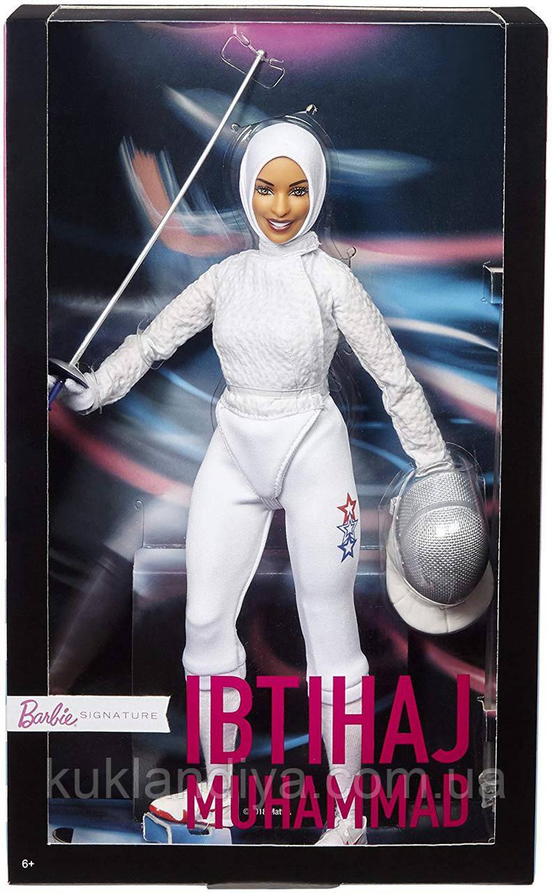 Колекційна лялька Барбі фехтувальниця Ибтихадж Мухаммед