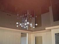 Зеркальные, французские натяжные потолки.