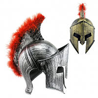 Шлем Спартанца с пухом