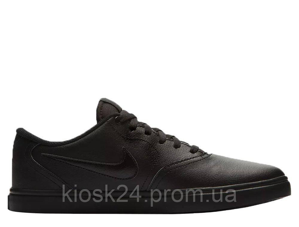 5c033f91 Оригинальные кроссовки Nike SB Check Solar Black (843895-009 ...