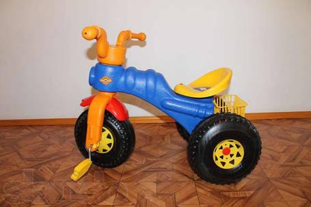Велосипед Мини 382 трехколесный пластмассовый на 2, 3, 4, 5 лет, фото 2