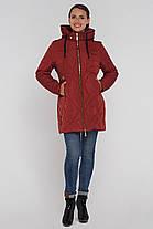 Модная женская куртка  пуховик  (50р!)черная, доставка по Украине, фото 2
