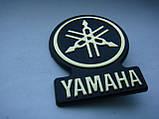 Шильдик, наклейка, логотип Yamaha 53mm на сетку колонки, фото 3