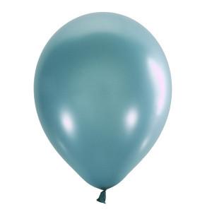 """Шар 12"""" (30 см) Мексика металлик 039 AQUA BLUE (аква блу)"""