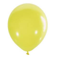 """Шар 12"""" LATEX OCCIDENTAL-МК пастель 001 желтый"""