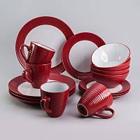 """Набор посуды """"Маки"""" 16 предметов EZ-2002"""