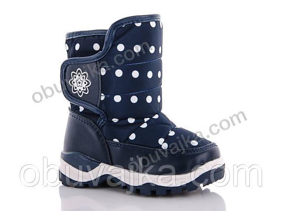 Зимняя обувь оптом Детские сноубутсы для девочек от фирмы С Луч(23-28), фото 2