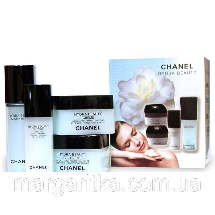 Женский набор кремов 4 в 1 Chanel Hydra Beauty  (Копия)