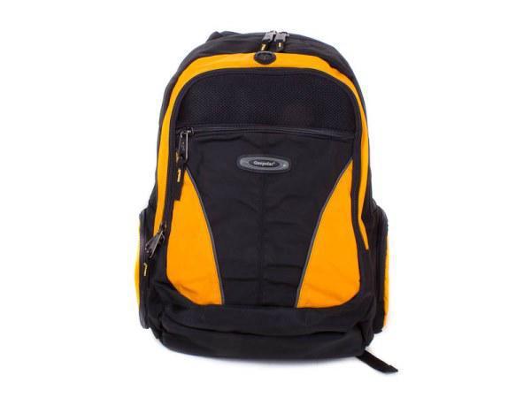 """1077 Рюкзак для ноутбука с экраном до 15.4"""" One Polar желтый"""
