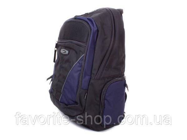 "1077 Рюкзак для ноутбука с экраном до 15.4"" One Polar темно-синий"