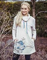 Женское теплое домашнее платье. Польша. KEY LHD 590