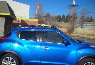 Nissan Juke (2010-) Дверные ручки 4-дверный (с отверст.под сенсор)