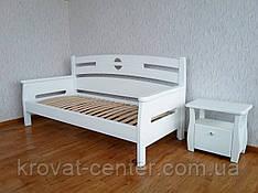 """Білий дерев'яний диван від виробника """"Луї Дюпон"""""""