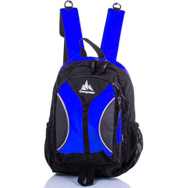 Рюкзак 18 л Onepolar 1297 школьный синий
