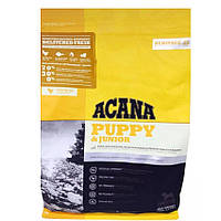 Корм Акана Акана Юниор Acana Puppy Junior для щенков собак от 9 до 25 кг с курицей и лососем 11,4 кг