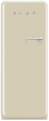 Отдельностоящий холодильник, стиль 50-х годов Smeg FAB28LCR3 кремовый