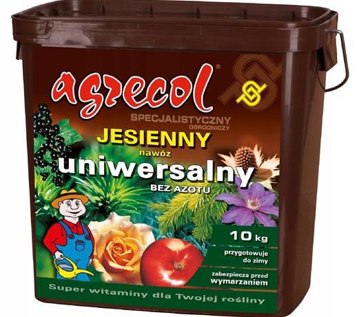Добриво осіннє Agrecol універсальне без азоту 10кг