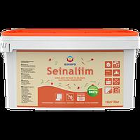 Eskaro Seinaliim клей 10 л  для приклеивания различных легких и тяжелых настенных покрытий обоев, стеклохолста