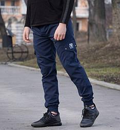 """Мужские штаны спортивные Cargo """"REXTIM"""" Criminal blue. Живое фото. Топ реплика ААА+"""