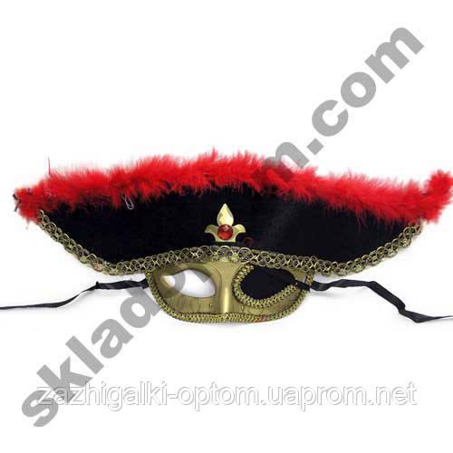 Маска-шляпа Пиратская