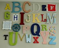 Буквы из пенопласта, фото 1