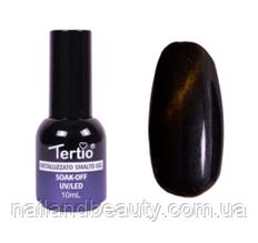 Гель-лак №014 (сине-зелёный магнитный) кошачий глаз 10 мл Tertio