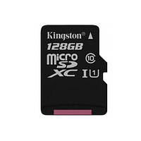 Карта памяти 128 GB microSDXC Kingston Canvas Select (SDCS/128GBSP)