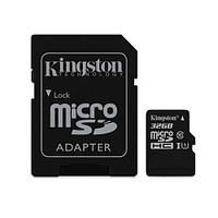 Карта памяти 32 GB microSD Kingston UHS-I Canvas Selec SDCS/32GB