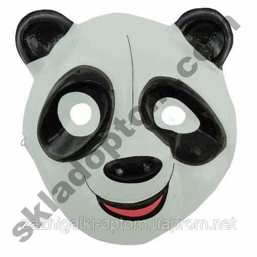Маска Детская Панда пластик (уп. 12шт)