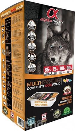 Alpha Spirit Multiprotein Полувлажный корм для собак всех пород