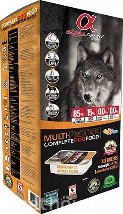 Alpha Spirit Multiprotein Полувлажный корм для собак всех пород , фото 2