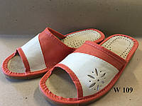 Тапочки для дома женские с открытым носком, фото 1