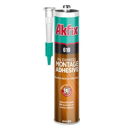 Жидкие гвозди на полиуретановой основе Akfix 610, 310 мл , фото 2
