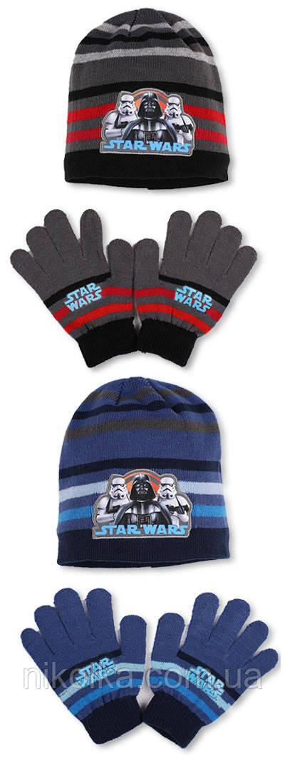 Шапки+перчатки для мальчиков оптом, Disney, арт. 780-254