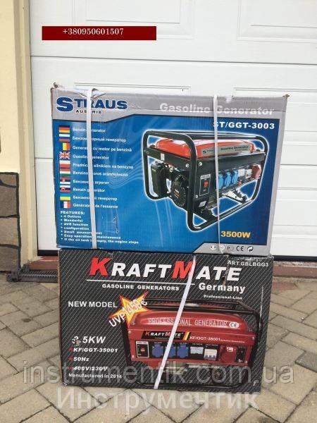 Бензиновый генератор Straus Austria 3500W ST/GGT-3003