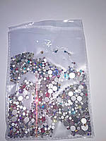 Камни Swarovski Cristal 1440 шт. mix цветные